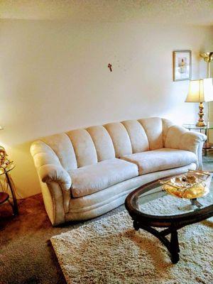 Sofa, Love seat, Coffee table for Sale in Everett, WA