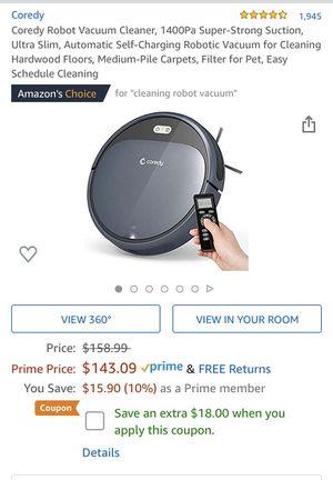 Robot vacuum cleaner for Sale in Miami, FL