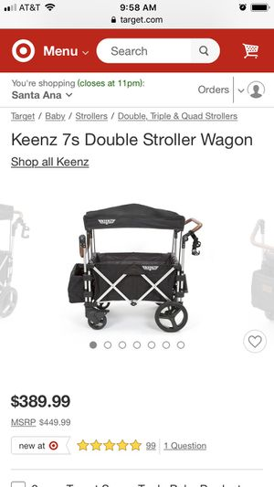 Double Stroller Wagon for Sale in Anaheim, CA