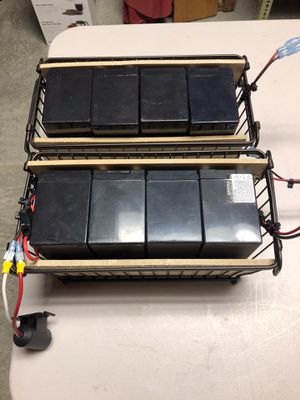 12 Volt SLA Batteries hold charge well for Sale in Hanover, PA