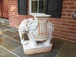 Elephant Plant Stand for Sale in Bethesda, MD