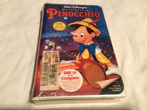 Pinocchio vhs for Sale in Scottsville, VA