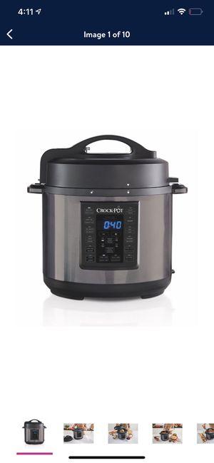 Crock-Pot 6 Qt 8-in-1 Multi-Use pressure cooker for Sale in Fort Lauderdale, FL