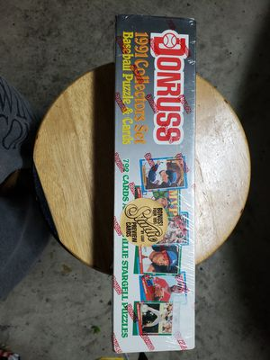 1991 Donruss unopened box complete set of baseball cards for Sale in Columbus, OH