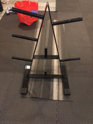 Weight Plate Rack for Sale in Brooklyn, NY