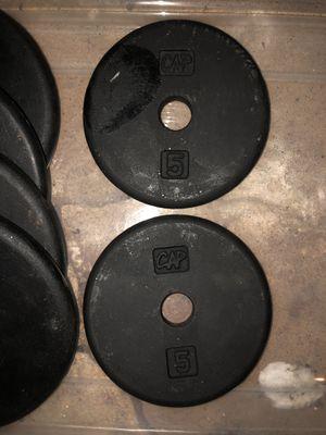 5lb set plates for Sale in Kernersville, NC