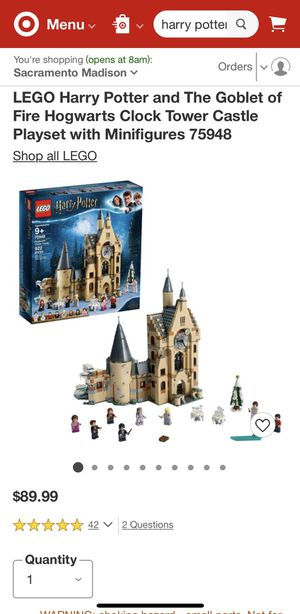 Brand New Lego Harry Potter for Sale in Gilroy, CA