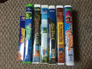 VHS kids movies for Sale in Harrisburg, PA