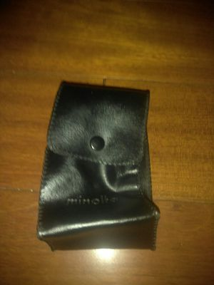 Minolla camera case only for Sale in Downey, CA