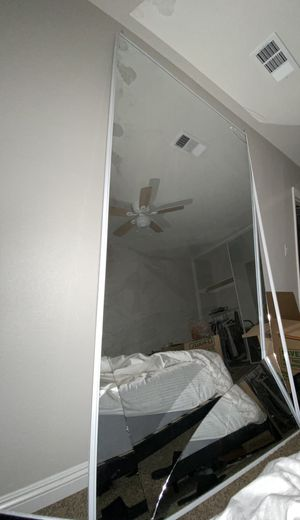 98x 48 Broken Closet Mirror for Sale in Riverside, CA