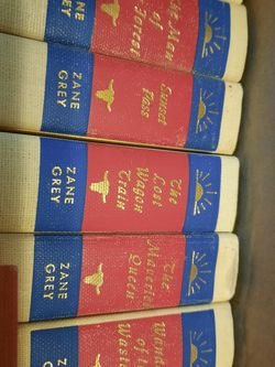 Zane Grey Book Collection for Sale in Salt Lake City,  UT
