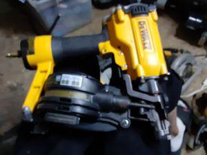 Dewalt nail gun for Sale in San Antonio, TX