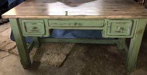Custom made wood desk and chair for Sale in Bonita, CA