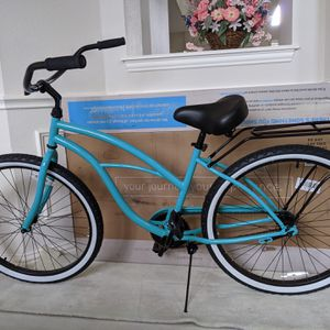 Bicycle: Teal Blue Single Speed Beach Cruiser for Sale in Plano, TX