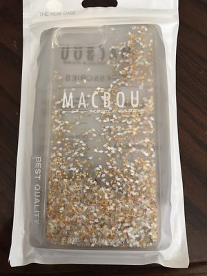 iPhone 7 gold liquid glitter case for Sale in Tolleson, AZ