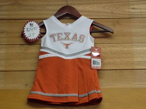 Texas Longhorns cheer dress size 2t**NEW** w/tag for Sale in Liberty Hill, TX