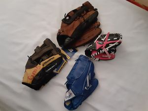 BASEBALL GLOVES for Sale in Harbor City, CA