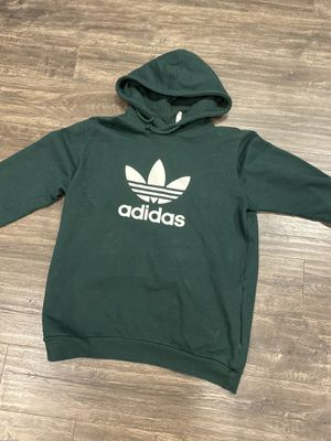 Men's Adidas green logo sweater hoodie for Sale in Artesia, CA