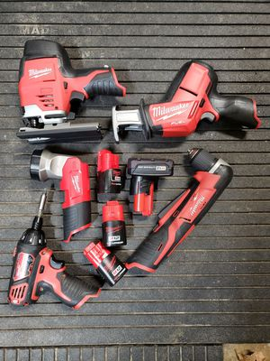 Milwaukee m12 kit! Good condition! for Sale in Lafayette, IN