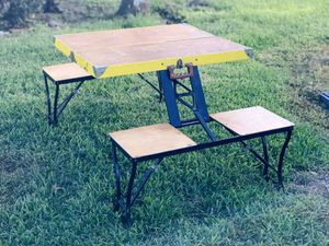Classic Portable Camping Table for Sale in Orlando, FL