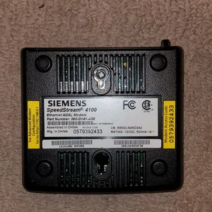 Siemens Speedstream 4100 Adsl Modem for Sale in Rosemead, CA