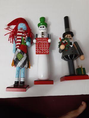 DISNEY THE NIGHTMARE BEFORE CHRISTMAS THE MAYOR, SALLY & JACK NUTCRACKER for Sale in Doral, FL