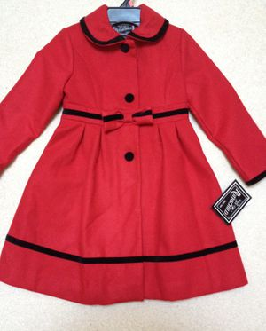 Girl's Beautiful Red Coat. Size 6. New for Sale in Chantilly, VA