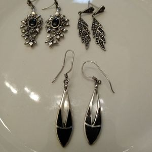 Sterling Silver Dangle Earring Lot for Sale in Oklahoma City, OK