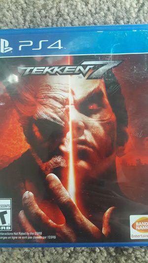 Tekken 7 (PS4, With insurance) for Sale in Avondale, AZ