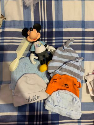 Boy baby hats newborn/diapers for Sale in St. Cloud, FL