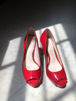 Jessica Simpson Red Heels for Sale in Miami, FL