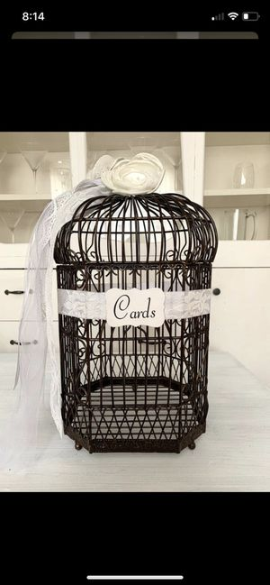 Wedding bird cage for Sale in Worcester, MA
