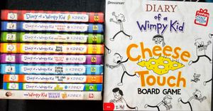 Diary of a Wimpy kid books & board game $30 for Sale in Lowell, MA