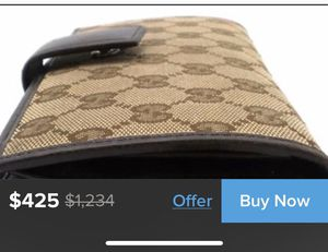 Authentic Gucci Interlocking Continental Wallet GG for Sale in San Diego, CA