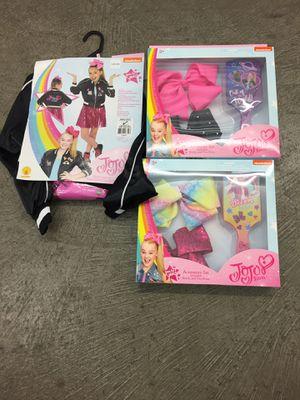 Jojo siwa bows & costume for Sale in Fort Walton Beach, FL