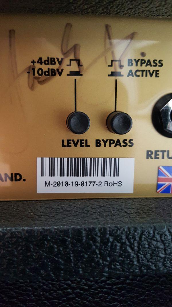 2010 Marshall 1959slp Plexi 100 watt Guitar Amplifier