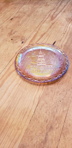 Special little Carnival Glass Plate. Very Collectible for Sale in Kent, WA