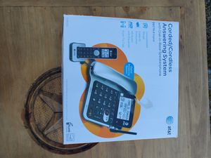 ATT Corded and Cordless Answering System for Sale in Farmersville, TX