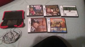 Nintendo DS with 5 games for Sale in Lancaster, OH