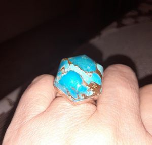 925.Silver. turquoise Ring size 7 for Sale in Fullerton, CA