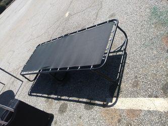 Twin Size Foldings One Bed Frame For $25.00 for Sale in Jonesboro,  GA