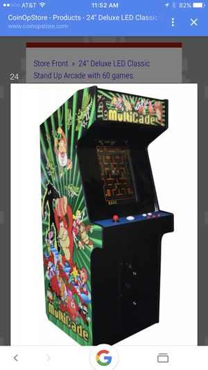 Arcade games with 410 games original arcade games! for Sale in Fort Lauderdale, FL