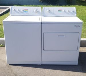 Whirlpool Washer Machine and Gas Dryer Matching Set for Sale in Las Vegas, NV