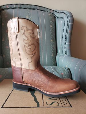 Texan cowboys real leather unisex boots for Sale in Miami, FL
