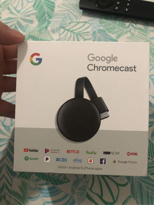 Google Chromecast 3rd Generation for Sale in Miami, FL