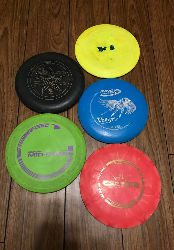 Disc Golf Complete Starter Set!!! Plus the 5