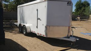 16ft enclosed trailer very heavy duty for Sale in Waddell, AZ