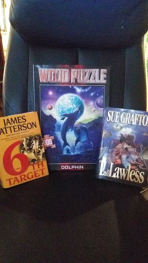 Book and puzzle assortment for Sale in Evansville, IN