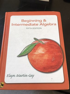 Beginning and intermediate algebra fifth edition for Sale in Hercules, CA