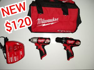 Milwaukee M12 Impact / Drill Driver for Sale in San Antonio, TX